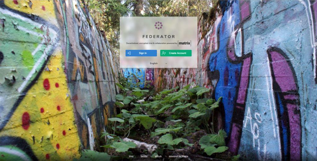 federator-welcome